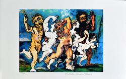 Picasso Silenus Dancing in Company