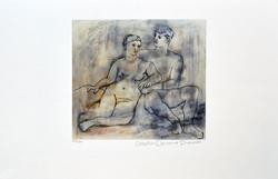 Pablo Picasso The Lovers
