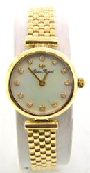 Lucien Piccard Ladies 14K with Diamond Dial