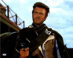 Clint Eastwood Signed 16x20 Movie Poster Photo UACC RD