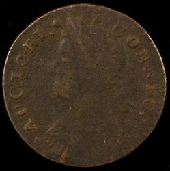 Nicer 1787 Connecticut Colonial Copper Piece