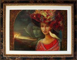 Spectacular Rina Sutzkever Original Oil