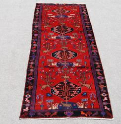 Finely Design Authentic Persian Hamedan Runner 11 ft