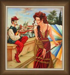 Exquisite original by Edgar Barrios