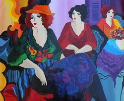 Original Patricia Govezensky Acrylic