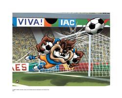 Warner Brothers Taz Soccer