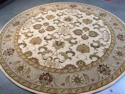 Stunning European Blend of Fashion & Tradition 8 Round Rug
