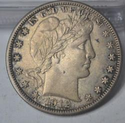 1912 Barber Half Dollar Very near Unc or Unc