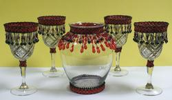 FESTIVE GLASS SET