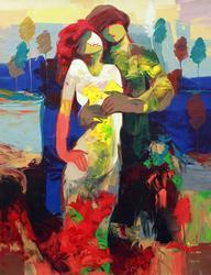 Stunningly beautiful original by  Jessica Palacios