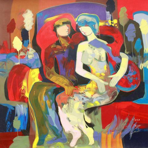 Beautiful bright original by Jessica Palacios