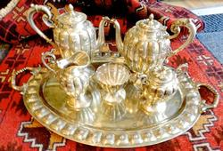 Very Collectible  6 pc. Sterling Tea Set