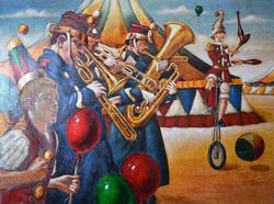 Superb Edgar Barrios Original on Canvas