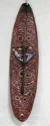 RUSTIC AFRICAN WALL MASK