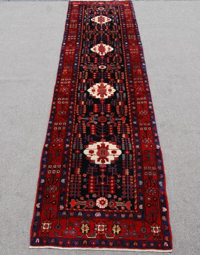 Exquisite High Quality 3.7 X 15.7 feet Nahavand Runner