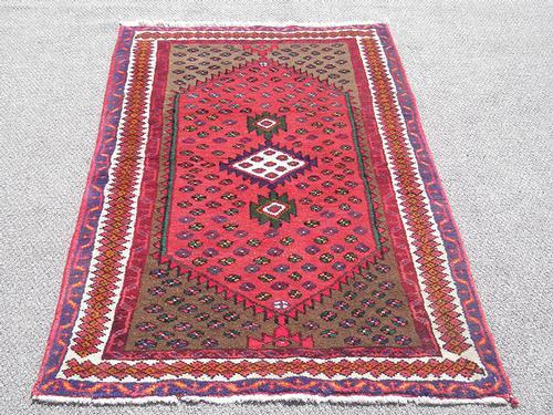 Rare Hand Woven Persian Hamadan 5x3