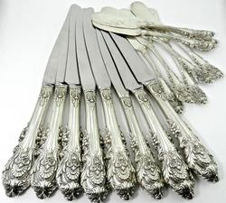 Set of Wallace Sir Christopher Sterling Flatware