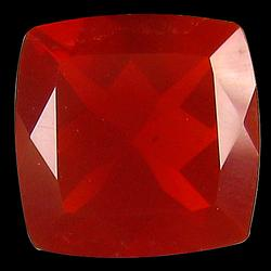 Top color 1.23ct blood red Mexican Fire Opal