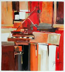 Yuri Tremler Limited Piano in Red