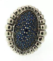 Lagos Muse Sapphire Ring in Sterling