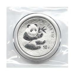 Nice Date 2000 Silver 1oz Panda