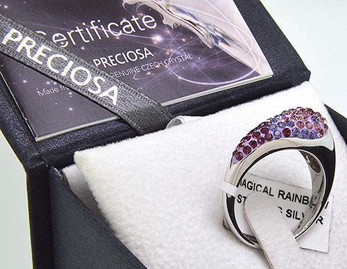 Preciosa Sterling Silver Ring