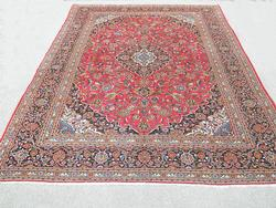 Lovely All Natural Hand woven Persian Kashan 13.8x9.10