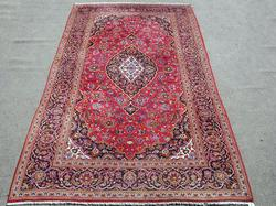Simply Gorgeous Authentic Persian Kashan, 6.8 x 11.11