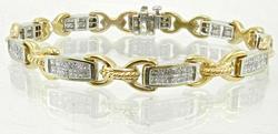 Beautiful 2.5 Carat Diamond Bracelet