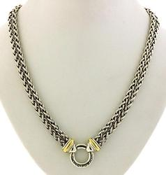 David Yurman Double Wheat Link Chain in 18K/Sterling