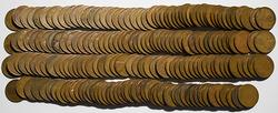1912  1912 D 1926 and 1927 rolls of Lincoln cents