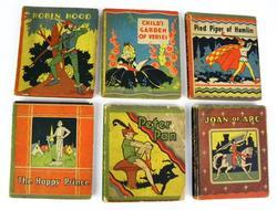 6 Miniature Children's Books, 1934