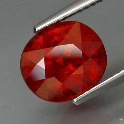 Superior color 4.50ct Imperial Garnet