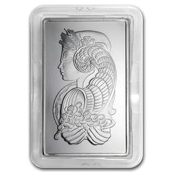 10 oz Fine Palladium Bar, PAMP
