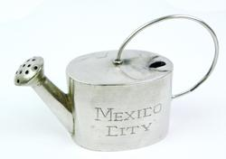 Vintage Miniature Sterling Silver Watering Can
