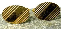 Traditional Gold Cufflinks