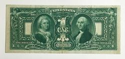 Extremely Popular 1896 $1 Educational Silver Certificate Note