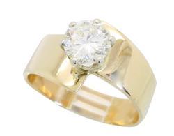 Elegant Design 1.01CT Diamond Solitaire
