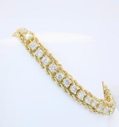 Amazing Quality 5+ctw Diamond Bracelet
