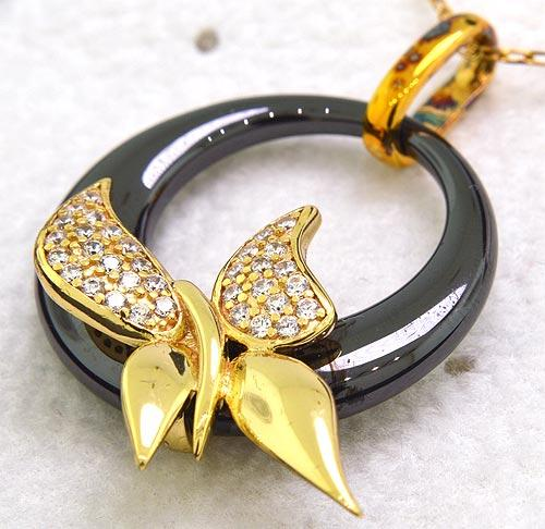 Preciosa 'Fancy' Collection Butterfly Necklace