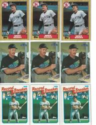 WADE BOGGS CARD COLLECTION