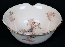 Japan Porcelain China Bowl With Flowers & Birds Pattern