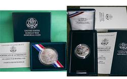 3 x PR 3 X BU 1991 Korean War Silver $'s