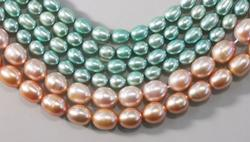 Lustrous Freshwater Pearls - Lot of 6 strands