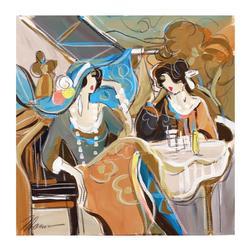 Isaac Maimon Original Acrylic Painting on Canvas