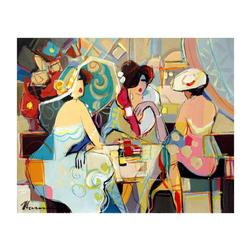 Isaac Maimon Original Acrylic Painting on Canvas, Hand Signed