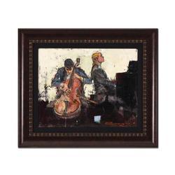 Alex Zwarenstein Framed Original Oil Painting on Canvas