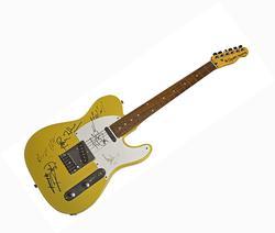 Rolling Stones X6 Autographed Signed Fender Tele AFTAL