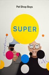 Pet Shop Boys Autographed Signed 16x23 Super Poster AFT