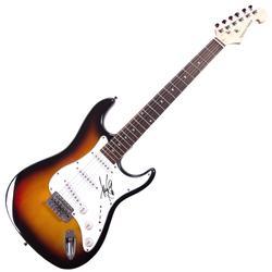 Amy Lee Evanescence Autographed Signed Sunburst Guitar